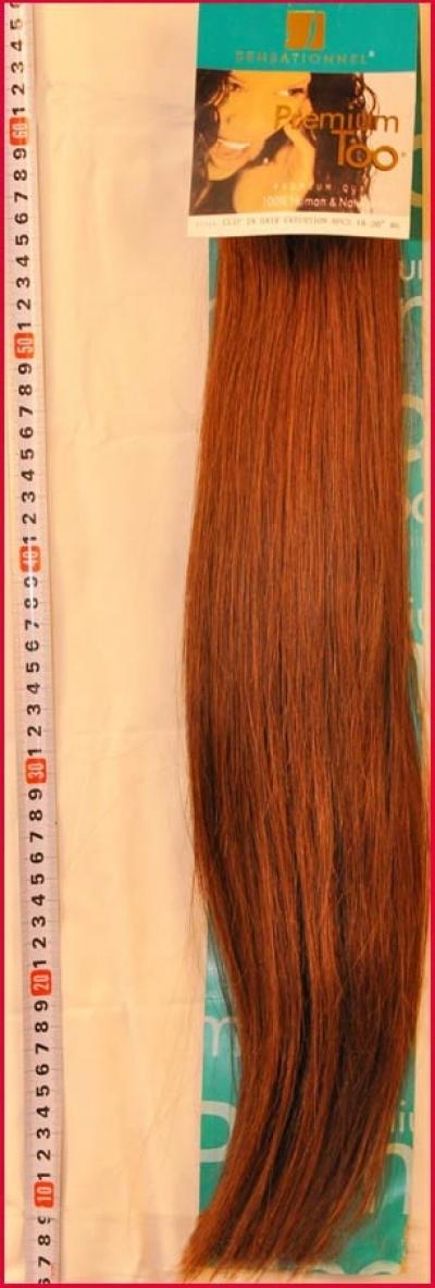 Набор из 8 прядей натуральных волос